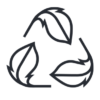 Maverick z lehce recyklovatelných materiálů